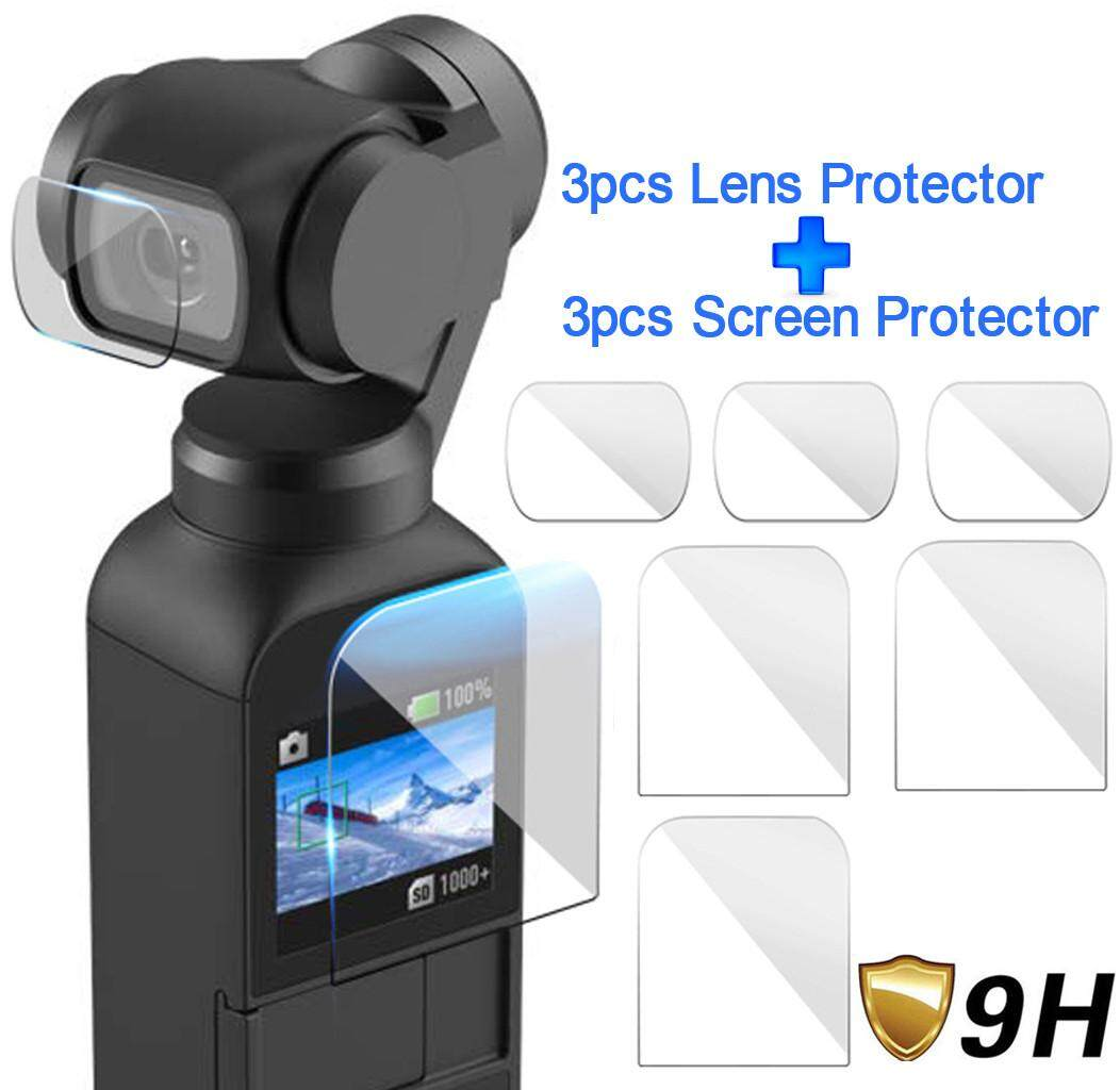 Docesty 6pcs Explosion-Proof Tpu Screen Protector Film Full Coverage For Dji Osmo Pocket By Docesty.