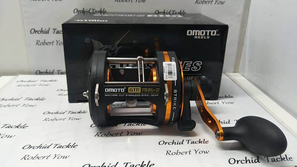 Omoto Gtr 2speed Taiwan Fishing Reel By Orchid Tackle And Aquarium.