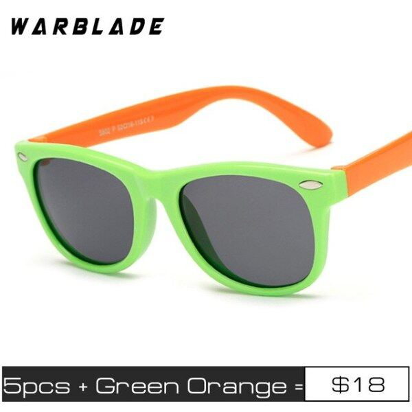 Mua 5 Cái/lốc Trẻ Em Phân Cực Kính Mát Kính Mắt TR90 Thời Trang Cổ Điển Cho Bé Trẻ Em Kính Mặt Trời Cậu Bé Cô Gái Kính Mát UV400 Oculos