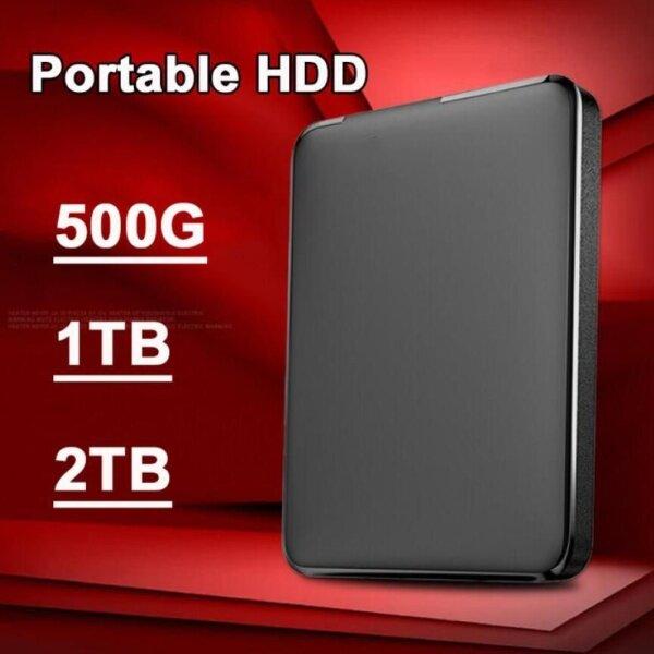 Bảng giá Ổ Đĩa Cứng Di Động Gắn Ngoài Tốc Độ Cao WD 500GB/1TB/2TB 2.5Inch USB 3.0 Phong Vũ