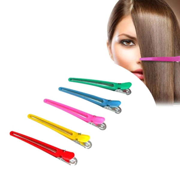 luhuiyixxn-10Pcs Salon Hairpins Dedicated Section Grip Hair Clip Plastic Hairdressing Hair nhập khẩu