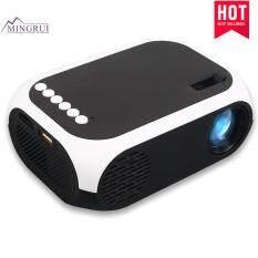 Mingrui 4 K 3D Full HD 4 K 3D HD Thông Minh Máy Chiếu 1080 P Di Động Thông Minh/AV/USB /HDMI Đa Phương Tiện LED