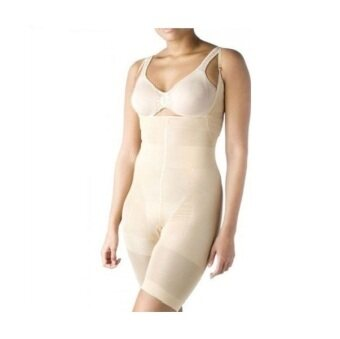 e3697b2e93 California Beauty Slim N Lift Full Body Shaper Undergarment With Strap  (BROWN) ...