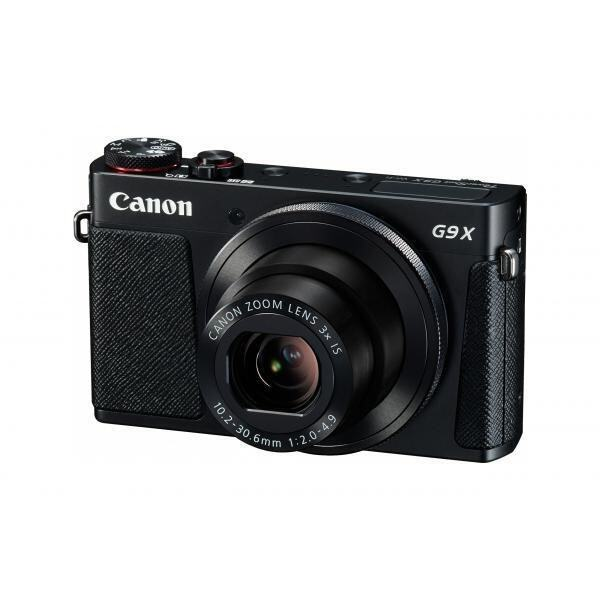 Canon PowerShot G9X Black Digital Camera 3x Zoom 20.2MP Full HD Wifi Prosumer Black