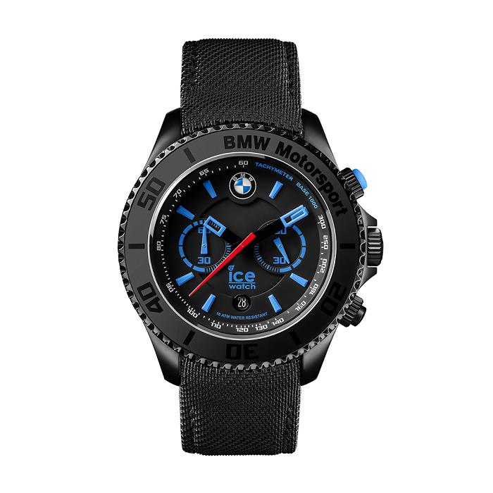 Ice-Watch BMW Motorsport Steel Chrono - Black (Extra Large) Malaysia