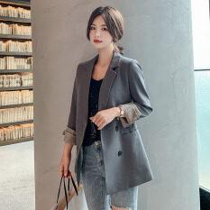 Áo Khoác Vest Nhỏ Phong Cách Hàn Quốc Mùa Thu 2020 Mới Áo Blazer Nữ Dáng Rộng Thường Ngày Ngoại Cỡ