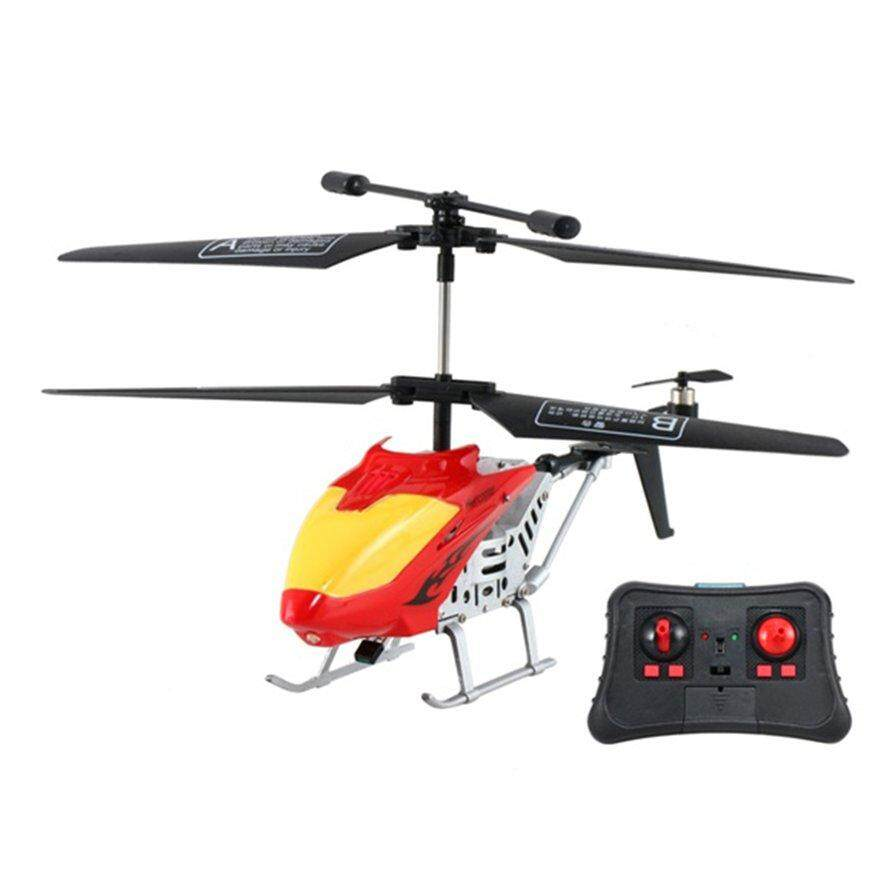 Best Seller 3.5 Channel Gyroscope Drop-Resistant Infrared Remote Control Helicopter Model By Markbella.