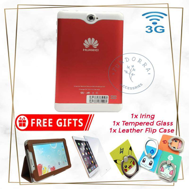 New Arrival Huawei Tab 7 Mini Tablet FREE Screen Preotector + Leather Case  + I-RING ( 2GB RAM + 16GB ROM )
