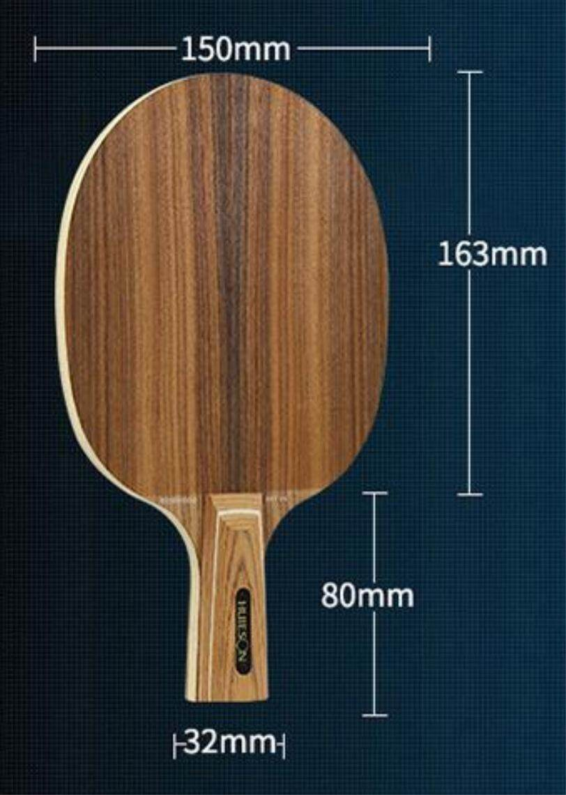 Huieson Rose 7/fast Break Table Tennis Racket Rosewood Blade