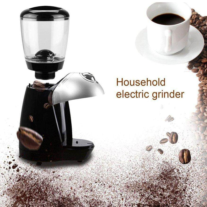 UINN Professional Coffee Grinder Equipped With 420 Stainless Steel Grinding Disk black - intl