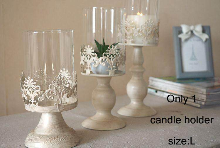Size L Candle Power Dinner Props Romantic Wedding Candlesticks Restoring Ancient Ways Furnishing Artical Candle Holders