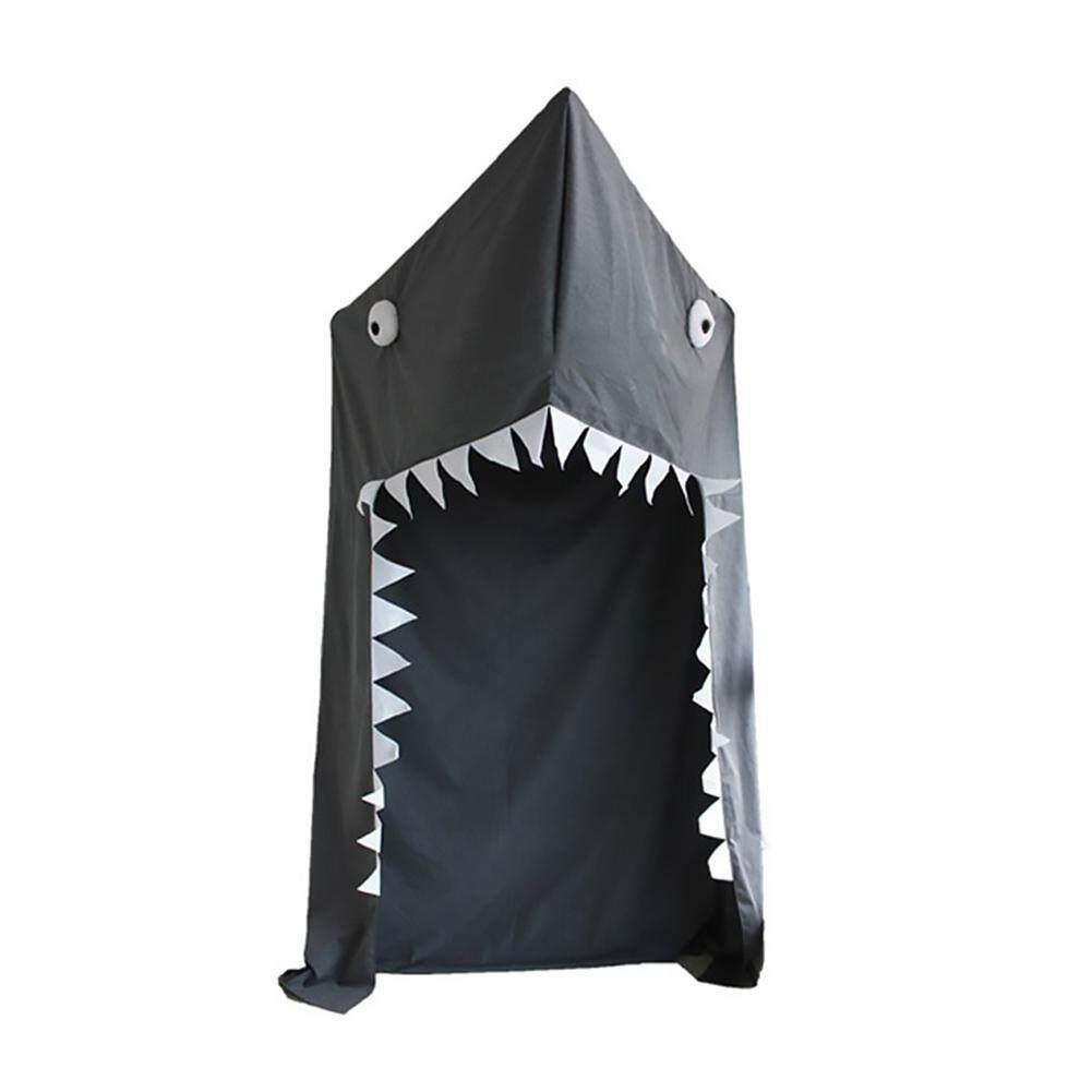 เด็ก Canopy มุ้งคลุมเปลอ่าน Nook Canopy BIG SHARK ชุดเครื่องนอนผ้าฝ้าย canopy