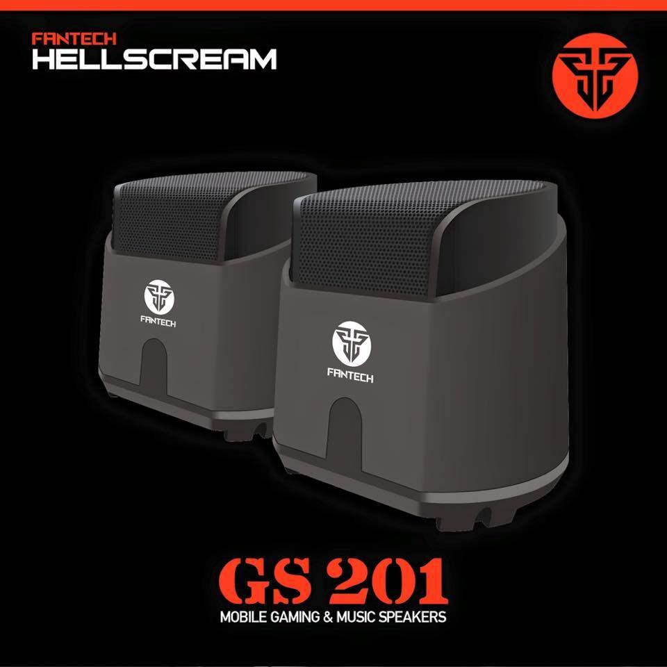 FANTECH GS201 Hellscream Super Bass Gaming Speakers-Black Malaysia