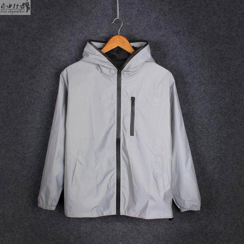 Motor Motorcycle Riding Outdoor Reflection Waterproof Safety Jacket