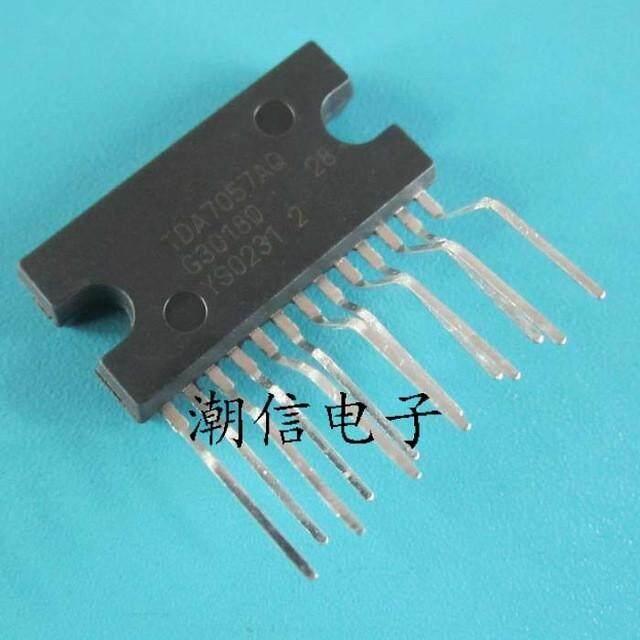 5pcs TDA7057AQ TDA7057Q TDA7057 ZIP-13 Dual channel audio amplifier In Stock