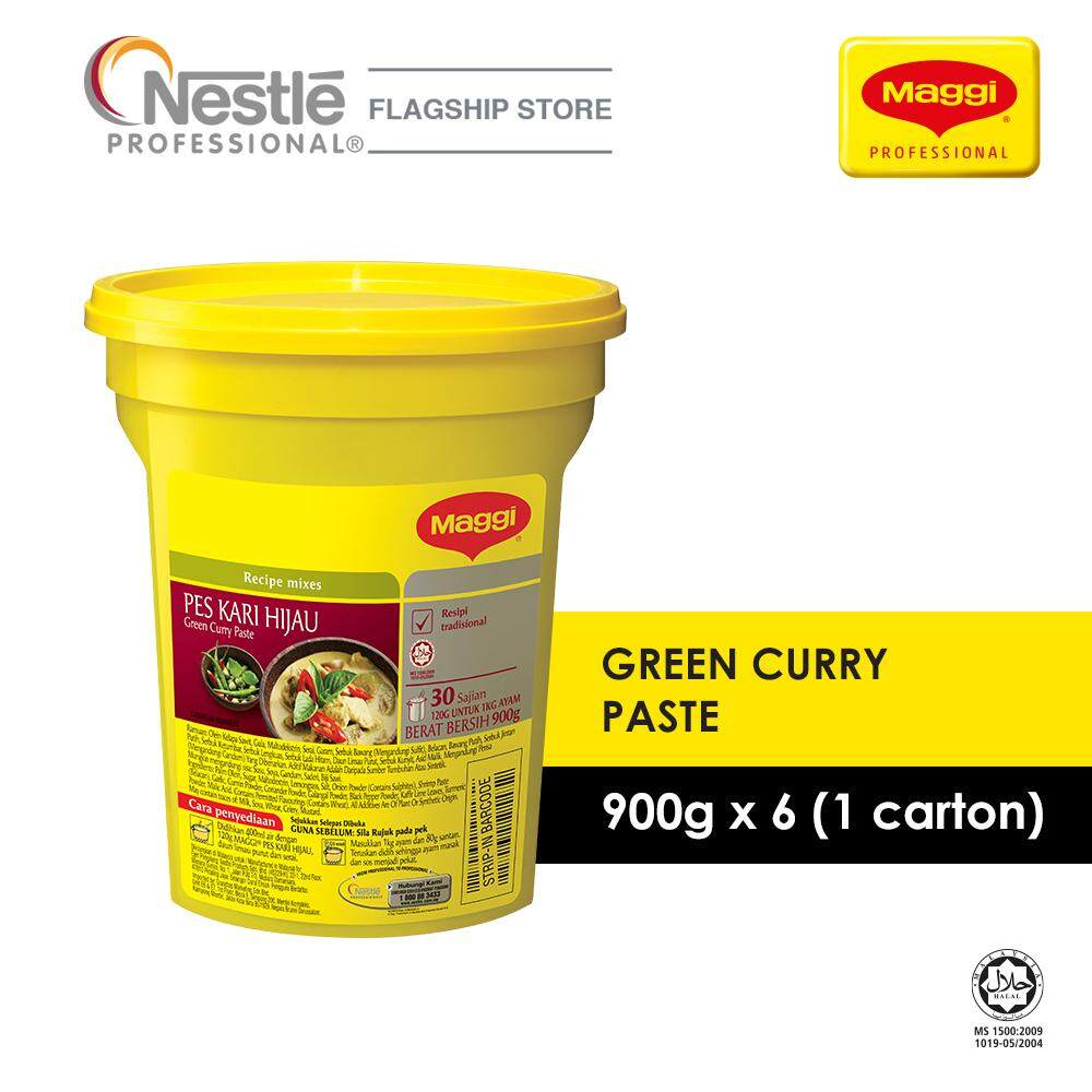 MAGGI Green Curry Paste - 900g x 6 (EXP 13/03/2020)