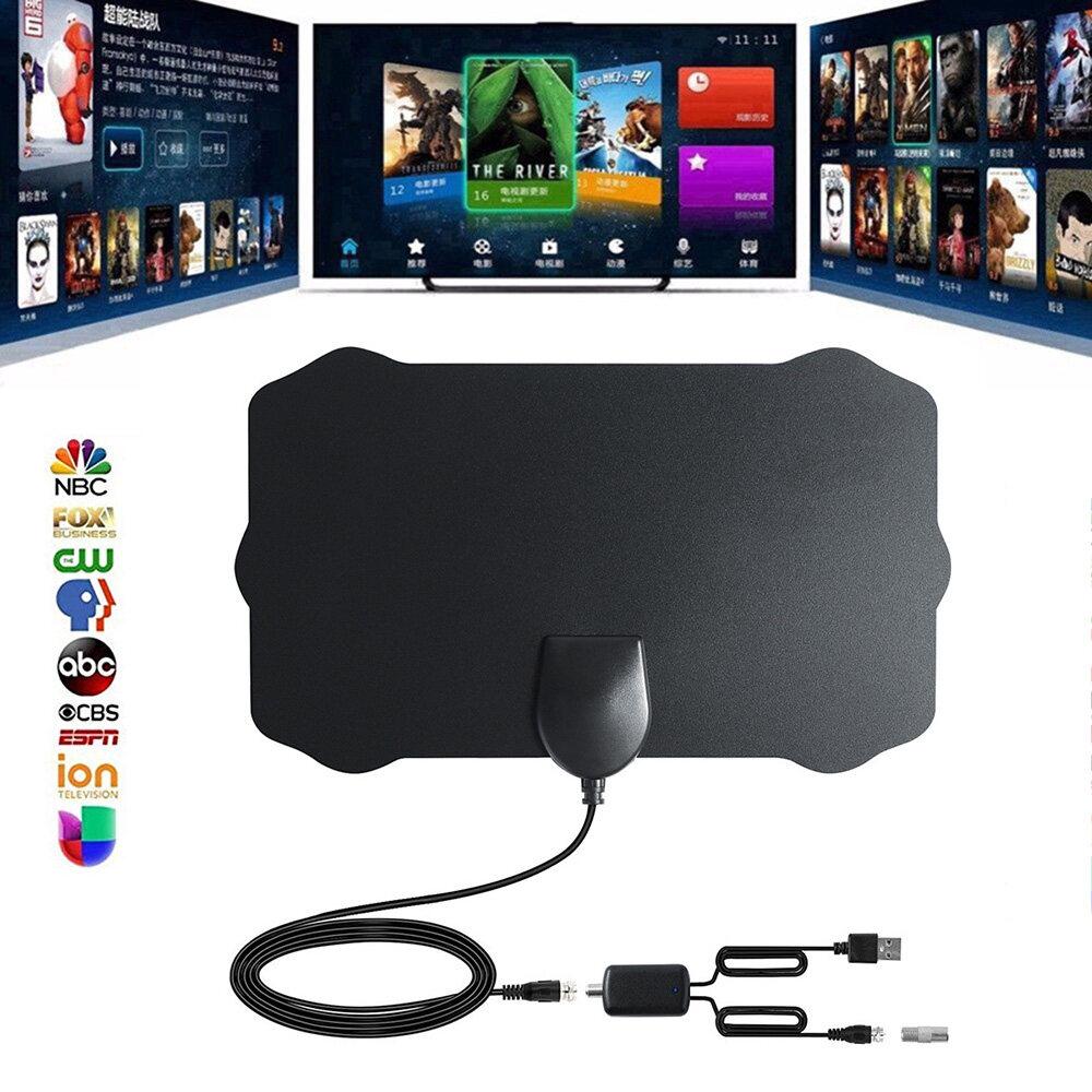 Giá [[Cá Tuyết]] [[Miễn Phí Vận Chuyển]] Mới Hot 960 Dặm Anh Phạm Vi Ăng Ten Tivi Kỹ Thuật Số HD HDTV 1080 P Skywire 4K Antena Kỹ Thuật Số-Trong Nhà