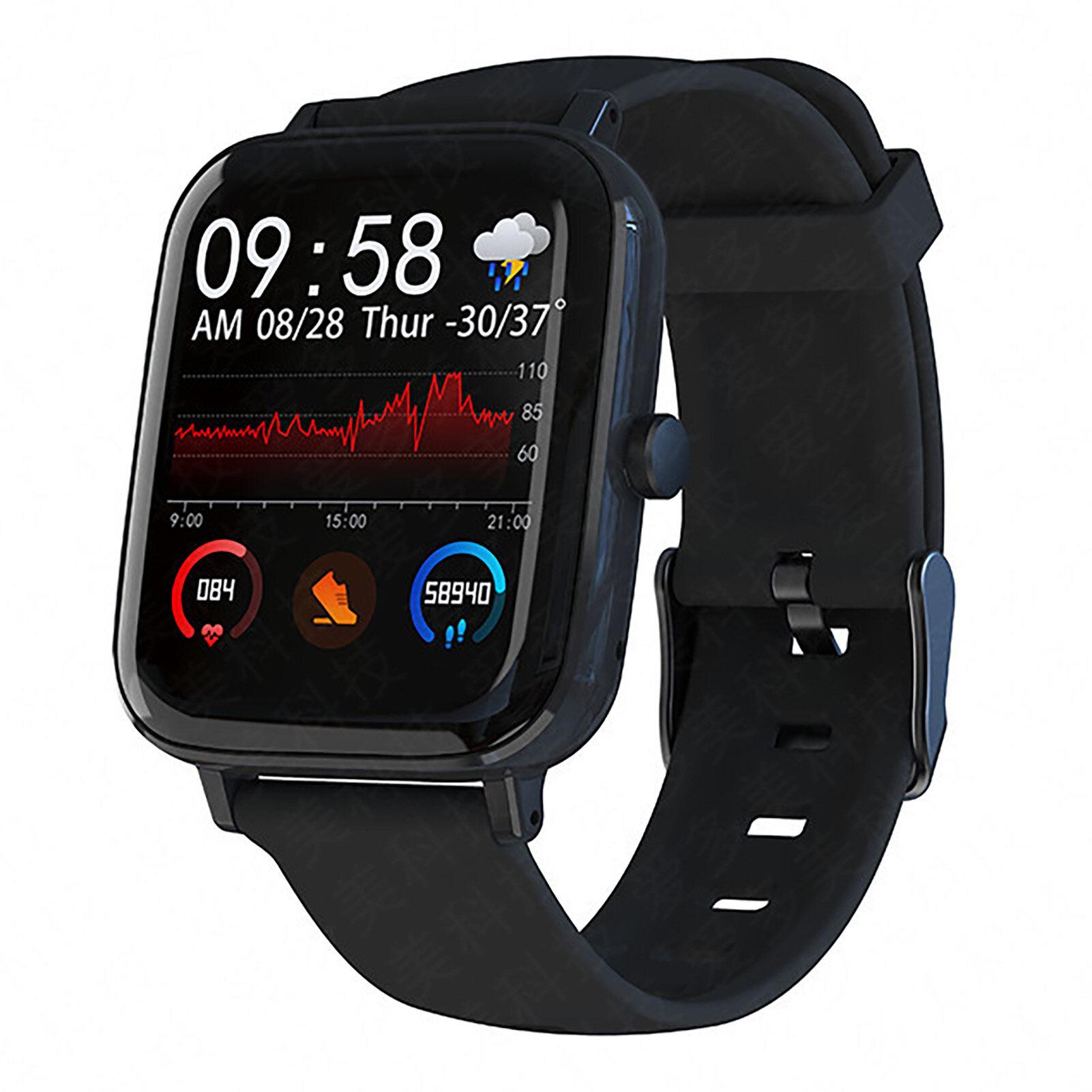 Màn Hình Cảm Ứng Thông Minh 1.54 Inch Bluetooth Chống Nước Có Thể Sạc Lại GT168 Đồng Hồ Thông Minh Thể Thao Chống Nước Bluetooth Cho Nam Và Nữ, Dây Đeo Thông Minh Theo Dõi Nhịp Tim Thể Thao Androidios Phù Hợp