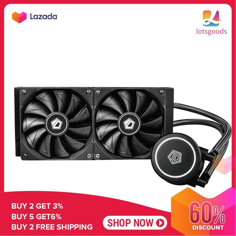 {9.9 Hot Sale Festival}lotsgoods ID-COOLING FROSTFLOW X 240 Dual Fans CPU Water Liquid Cooler for Intel/AMD Malaysia