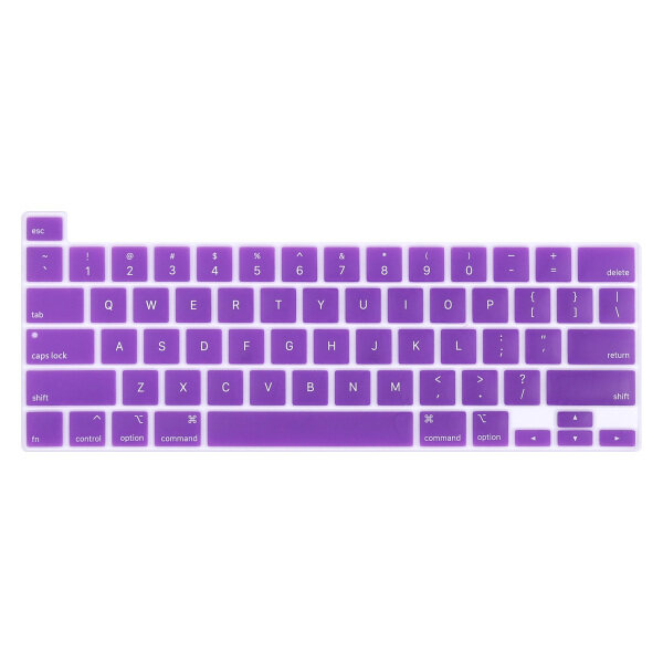 Keyboard Protector Compatible for New MacBook Pro 13 2021 Model A2289 A2251 A2338 M1 MacBook 16 inch A2141 Colorful Keyboard Cover with Touch Bar
