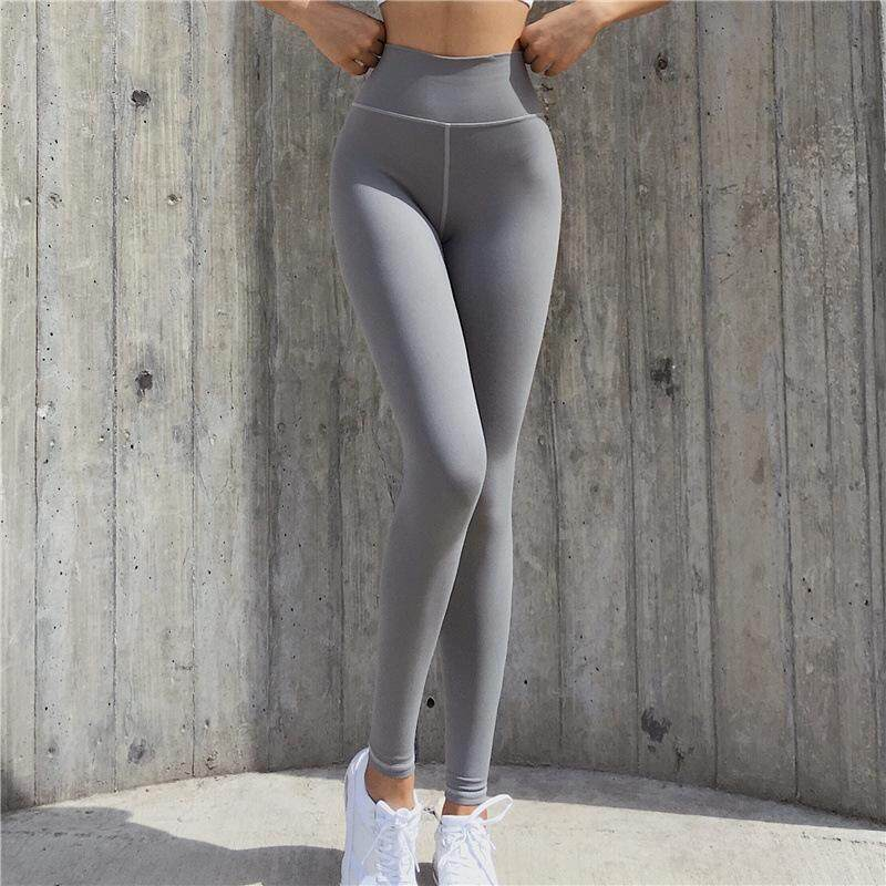 44a677d061865 Women High Waist Sports Gym Yoga Running Fitness Leggings Pants Athletic  Trouser Stretch Quick-drying