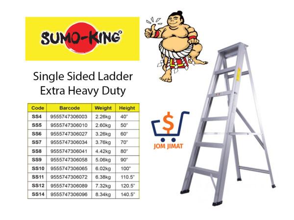 Sumo King Aluminium Single Sided Ladder