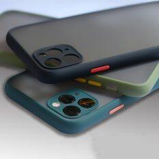 Ốp lưng điện thoại Iphone 11 Pro Max x XR XS max 6 7 8 Plus, Ốp bảo vệ khung màu tương phản, mờ đục, cứng PC cho Iphone 11