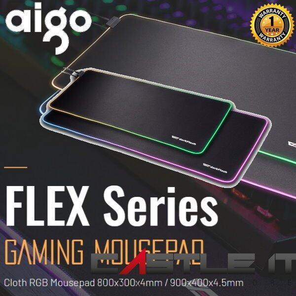 Aigo darkFlash Flex 800 Premium RGB Gaming Mousepad (FLEX800) Malaysia
