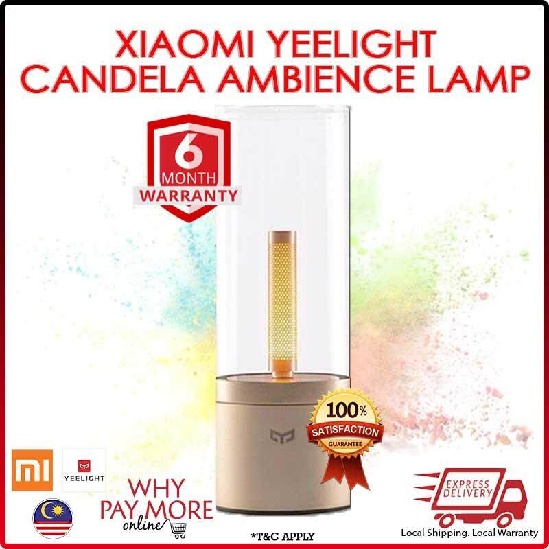 Xiaomi Mi Yeelight Ambiance Candela Atmosphere Bedside Lamp Ylfw01yl By Wpm Online.