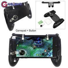 Guajave Nút Chơi Game Joystick Kèm Quai Cầm Tay Di Động Điều Khiển Hỗ Trợ Bộ Dụng Cụ cho PUBG