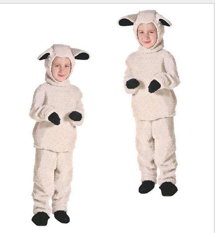 Halloween Children's Sheep Costumes Animal Sheep Children's Day Stage Performance Costumes