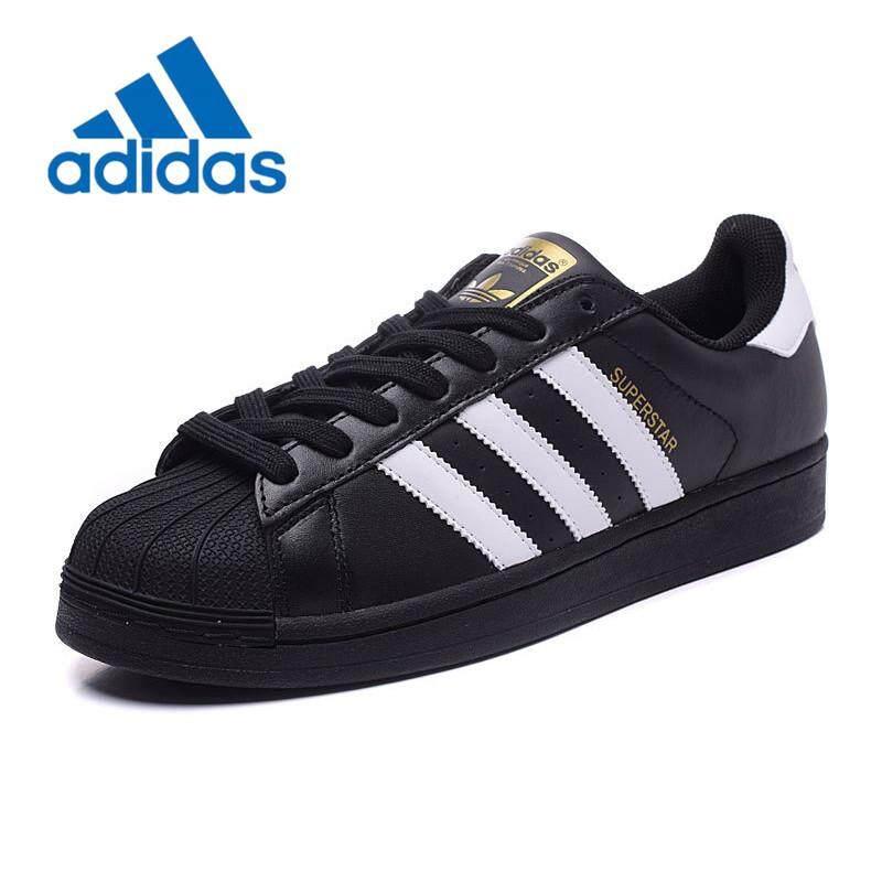 Buy adidas Originals Superstar Foundation Black White Gold B23642 Online
