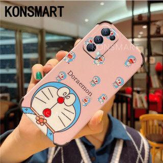 Vỏ Bảo Vệ Máy Ảnh Mờ Mới KONSMART, Ốp Đôi Doraemon Hoạt Hình Dễ Thương OPPO Reno5 Pro 5G A15S A15 A73 A93 Reno 4F Ốp Điện Thoại OPPO A15S Ốp Lưng Cứng Chống Sốc Silicon thumbnail