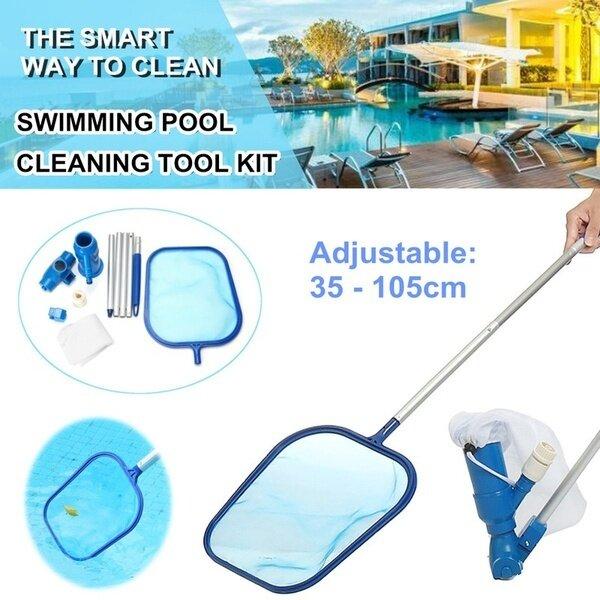 Bộ dụng cụ vệ sinh máy hút bụi hồ bơi, phụ kiện vệ sinh hồ bơi