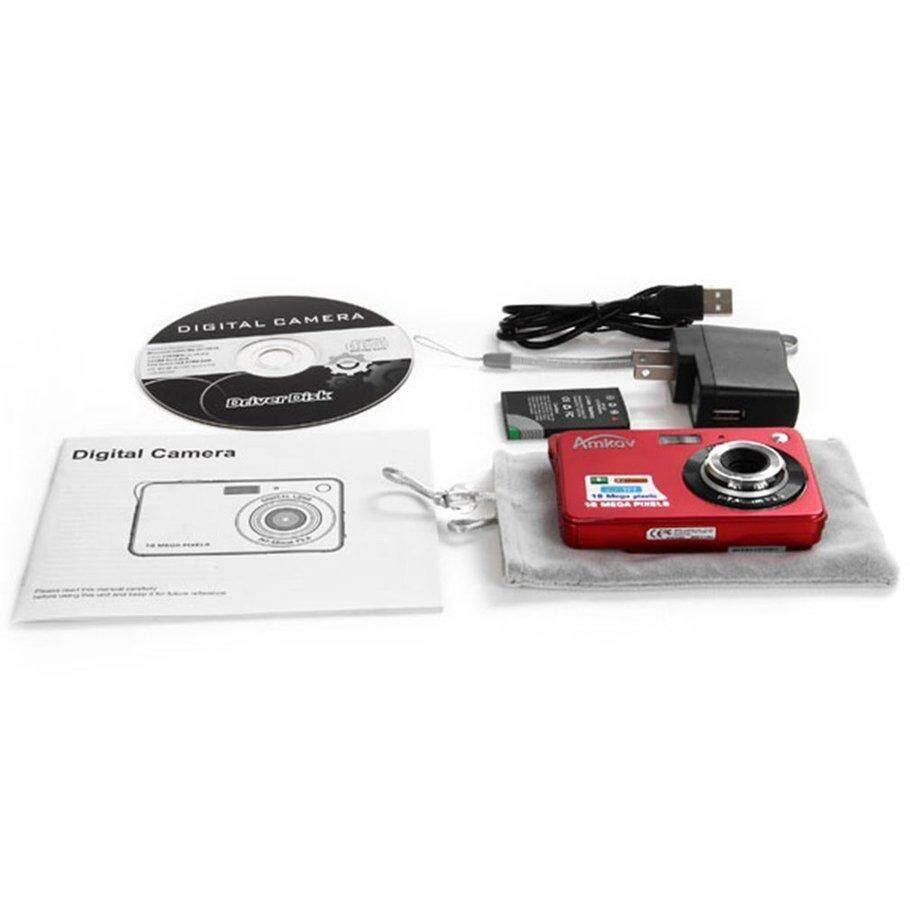 [โปรโมชั่น] Ultra Thin Amk-Cdc3 ดิจิตอล Camera 5 ล้านพิกเซลแบบพกพากล้อง Hd By Kakagardener.