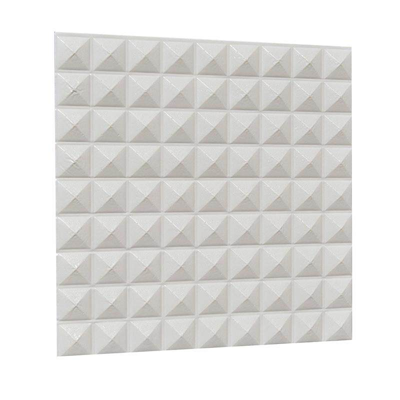 3D Three-dimensional Wall Panels DIY Self-adhesive Waterproof Creative Wallpaper Home Clothing Shop Furniture Store Mural Art Decoration white