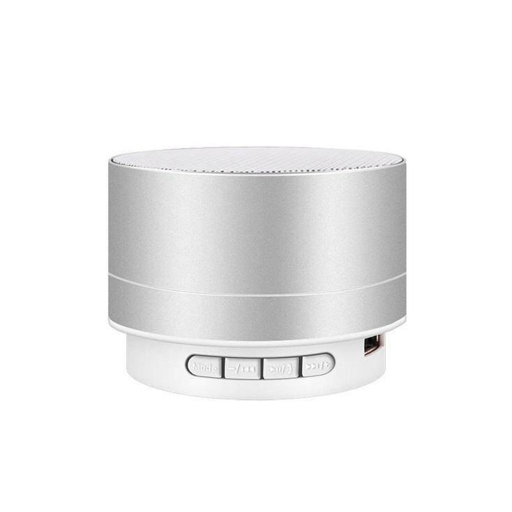 LumiParty Wirelesss LED Phát Sáng Bộ Thu Bluetooth rảnh Tay Nghe Nhạc Kim Loại Loa Bluetooth