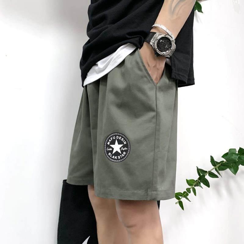 สี่ไตรมาสกางเกงผู้ชายกางเกงขาสั้นหลวมด้านนอกสวมใส่บิ๊กกางเกงชายฤดูร้อนกางเกงขาสั้นกางเกงครึ่ง