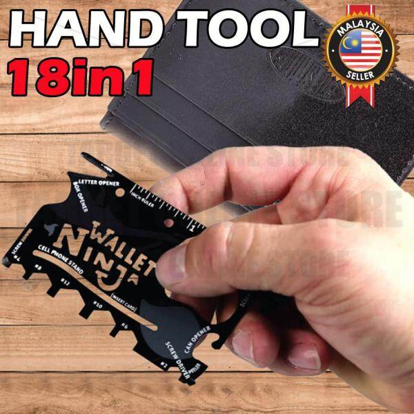 Hand Tool Ninja Card 18 in 1 Multi Tool Pocket Credit Card Size