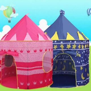 Quà Tặng Trẻ Em Lều, Gấp Trốn Đồ Chơi, Phòng Trẻ Sơ Sinh Tập Bò Cắm Trại Trong Nhà Di Động thumbnail