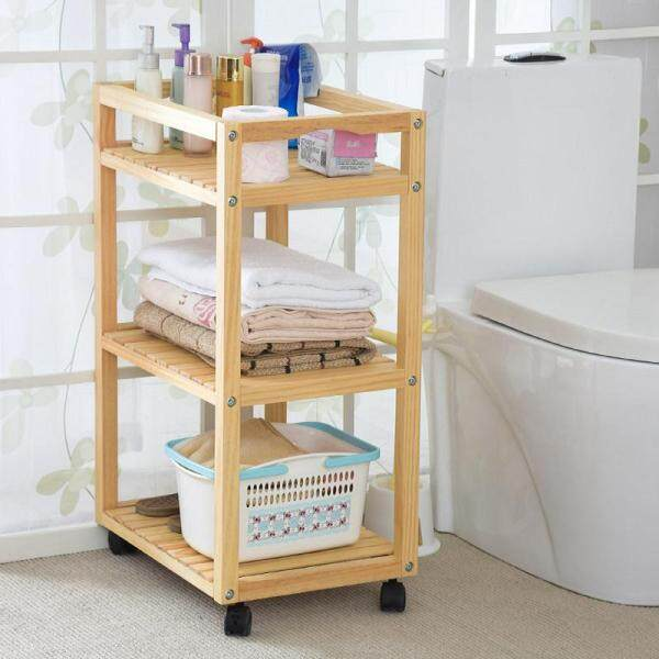 Side Table Rack Storage Ark Movable Shelving By Olive Al Home