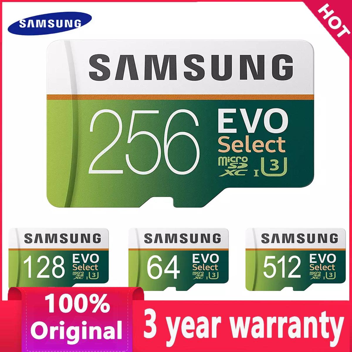 Thẻ Lưu Trữ Bộ Nhớ TF Valeriee Samsung EVO 64G/128G/256G/512G/1T Cho Điện Thoại Máy Tính Bảng