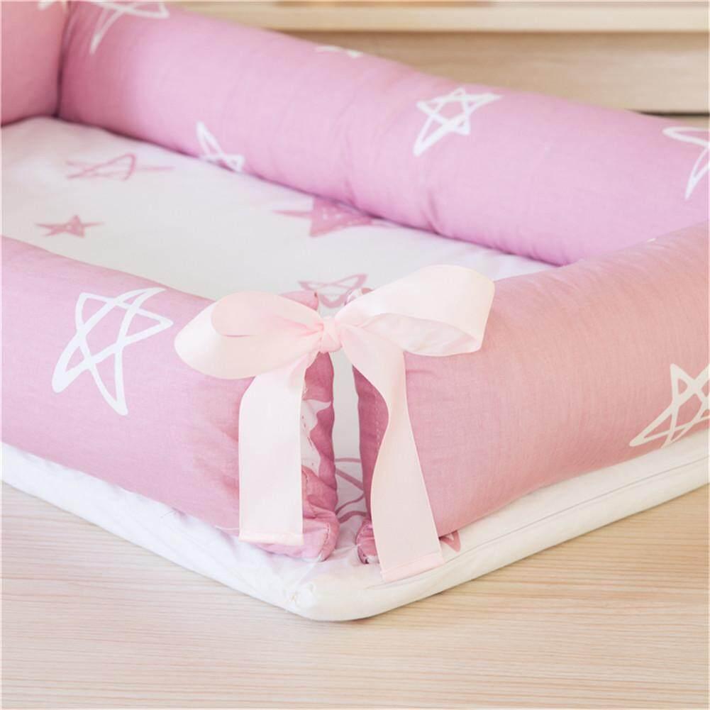 Giường cũi em bé cho bé di động cũi có thể tháo rời và có thể rửa được du lịch cũi cho bé với trẻ em cotton cũi 0-2Y