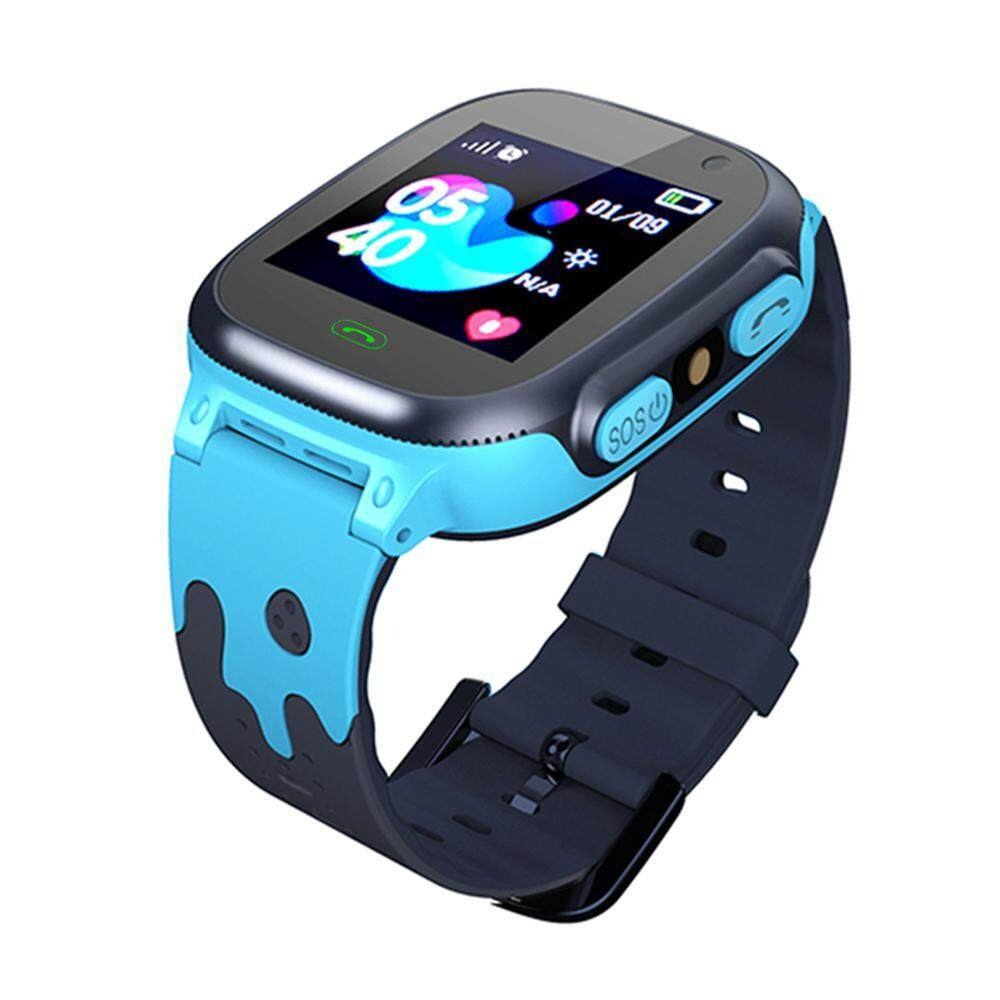G&M Q15 1.44 Inch Accurate Locating Smart Bracelet for Children from 3-12 Years Old Watch Smartwatch Voice Call Phone Non-Waterproof with Camera English Version for Kids Boys and Girls