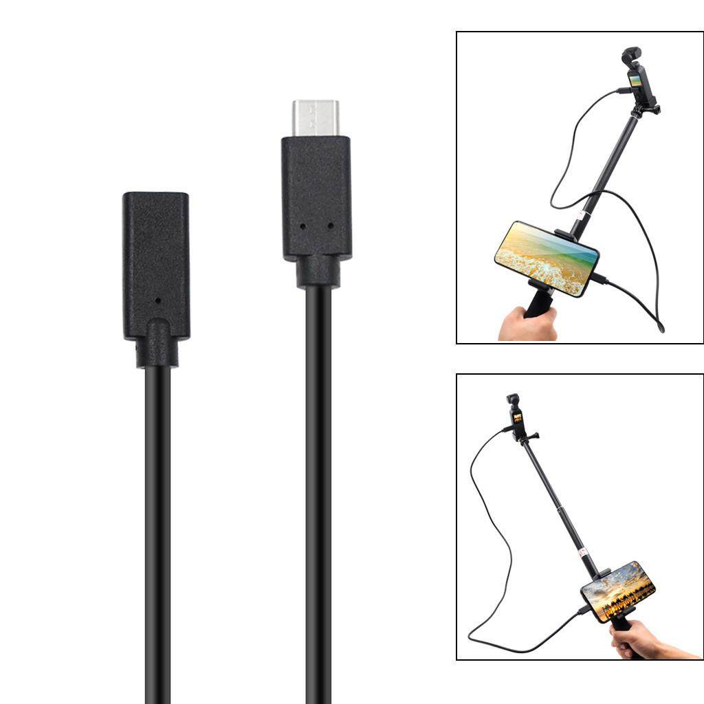 Docesty Type-C Usb Extension Extender Data Sync Cable Adaptor For Dji Osmo Pocket By Docesty.