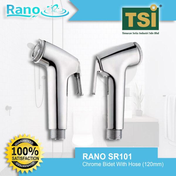 RANO SR101 Chrome Bidet With Hose (120mm)