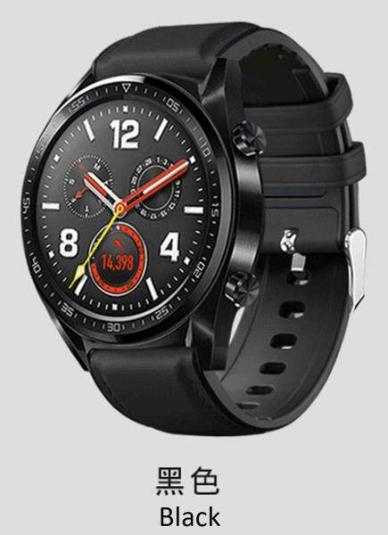 [Special Design] Huawei Watch GT Strap 22mm [Leather + Silicon] 华为表带22MM替换带 Malaysia