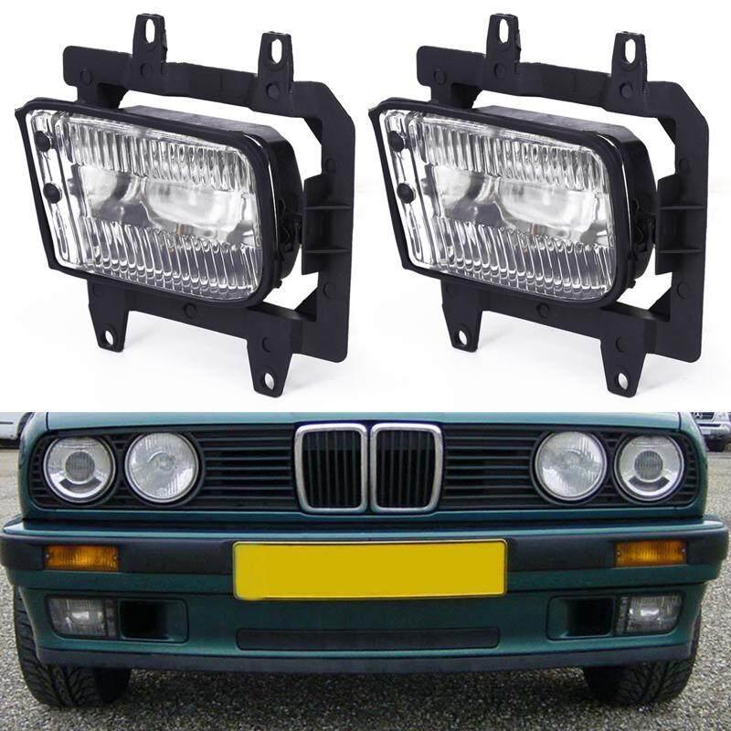 1 Pasang Bumper Depan Jelas Kabut Mengemudi Lampu Terang untuk BMW E30 318i 325i 85-93 Baru