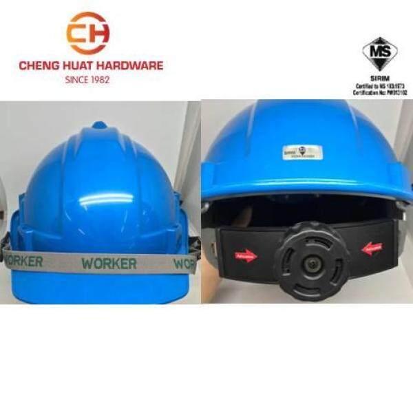 WORKER INDUSTRIAL SAFETY HELMET (RACHET) SIRIM CERTIFIED