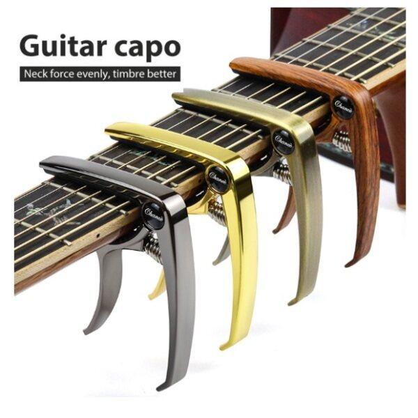 ZAPPO Aluminium Alloy Metal Guitar Cap Clamp Acoustic Classic Guitar Tuner Guitar Capo Malaysia